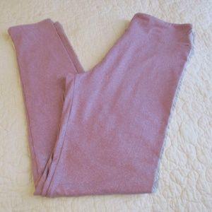 Lularoe Pink One Size Leggings